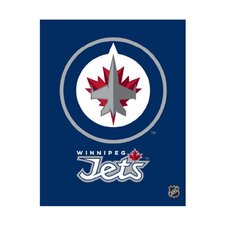Winnipeg Jets Logo Graphic Art on Canvas