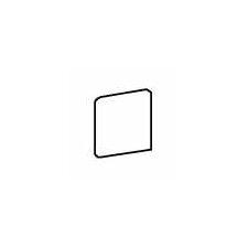 """Pozzalo 3"""" x 3"""" Bullnose Corner Tile Trim in Sail White (Set of 3)"""