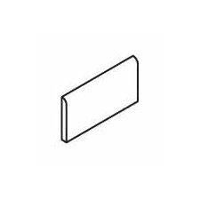 "Pozzalo 6"" x 2"" Surface Bullnose Tile Trim in Sail White"