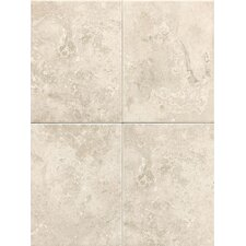 """Pozzalo 9"""" x 12"""" Ceramic Field Tile in Sail White"""