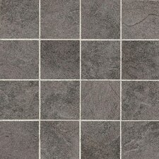 "Shadow Bay 3"" x 3"" Porcelain Mosaic Tile in Rocky Shore"