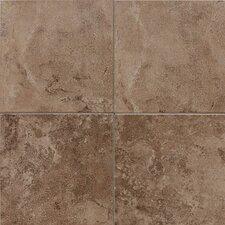 """Pozzalo 6"""" x 6"""" Ceramic Field Tile in Weathered Noce"""