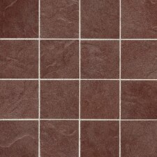 "Shadow Bay 3"" x 3"" Porcelain Mosaic Tile in Sunset Cove"