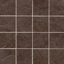 "Shadow Bay 3"" x 3"" Porcelain Mosaic Tile in Fishing Pier"