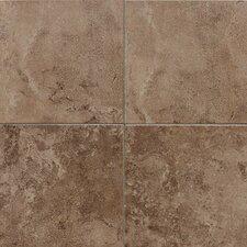 """Pozzalo 18"""" x 18"""" Ceramic Field Tile in Weathered Noce"""
