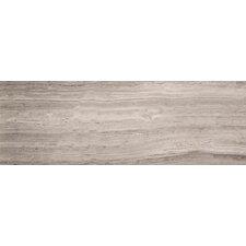 "Metro 6"" x 24"" Marble Wood Tile in Gray"