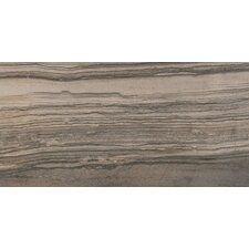 "Motion 12"" x 24"" Porcelain Wood Tile in Signal"