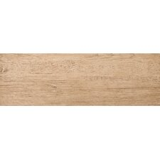 """Country 8"""" x 24"""" Porcelain Wood Tile in Hampton"""