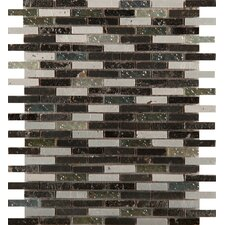 Treasure Glass Mosaic Tile in Multi-Colored