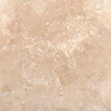 "18"" x 18"" Travertine Field Tile in Ivory"