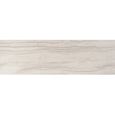 "Motion 6"" x 23"" Porcelain Field Tile in Cream"