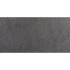"St Moritz Ii 12"" x 24"" Porcelain  Field Tile in Gray"