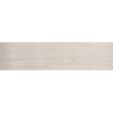 """Country Arbor 6"""" x 24"""" Porcelain Wood Tile in Ivory"""