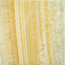 "18"" x 18"" Onyx Field Tile in Golden Honey"