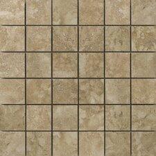 Lucerne Rigi Porcelain Mosaic Tile in Beige