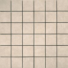 Pacific Ceramic Mosaic Tile in Cream