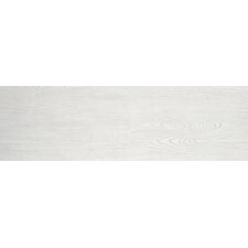 "Alpine 8"" x 36"" Porcelain Field Tile in White"