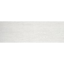 "Alpine 12"" x 36"" Porcelain Field Tile in White"