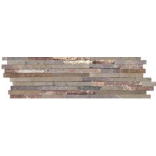 Slate Splitface Tile in Multi-Colored