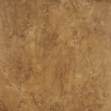 "Agra 20"" x 20"" Porcelain Field Tile in Noce"
