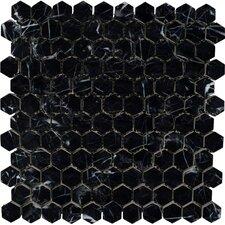 Marble Mosaic Tile in Black