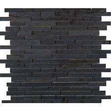 Metro Marble Mosaic Tile in Black