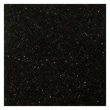 "Galaxy Black 12"" x 12"" Granite Tile in Galaxy  Black"