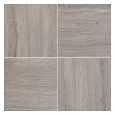 Metro MO/1212 Limestone Tile in Gray Hex Wide Honed Mosaic