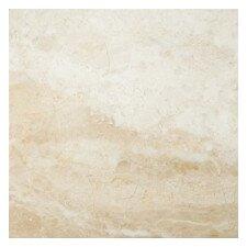 "Milano Beige 24"" x 24"" Marble Tile in Beige"