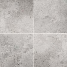 """Silver 12"""" x 24"""" Marble Tile in Silver Polished"""