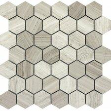 Metro MO/1212 Limestone Tile in Cream Hex Large Honed
