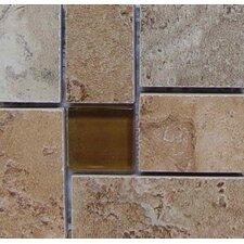 """Lucerne 4"""" x 4"""" Floor Listello Corner in Multicolor"""