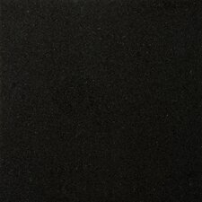 "Natural Stone 18"" x 18"" Granite Field Tile in Absolute Black"