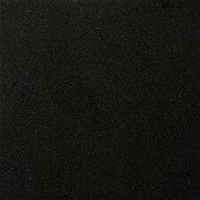 "Natural Stone 12"" x 12"" Granite Field Tile in Absolute Black"