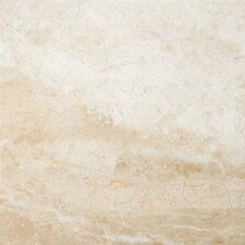"Natural Stone 18"" x 18"" Marble Field Tile in Milano Beige"