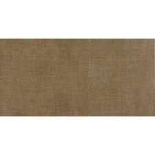 "Tex-Tile 12"" x 24"" Porcelain Fabric Tile in Linen"