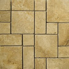 Natural Stone Random Sized Travertine Mosaic Tile in Oro