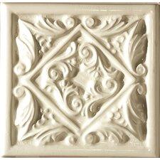 "Cape Cod 6"" x 6"" Seashore Accent Tile in Artisan Cream Crackle"