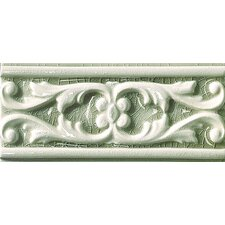 """Cape Cod 9"""" x 4"""" Seashore Accent Tile in Willow Green Crackle"""