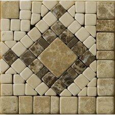 "Natural Stone 4"" x 4"" Honed Marble Scultura Listello Corner"