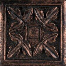 "Camelot 2"" x 2"" Arthur Dot in Copper"