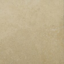 "Natural Stone 6"" x 6"" Travertine Field Tile in Ivory Classic"