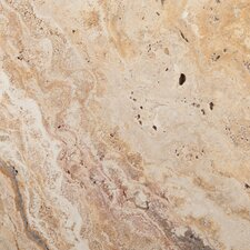 "Natural Stone 16"" x 16"" Travertine Field Tile in Scabos"