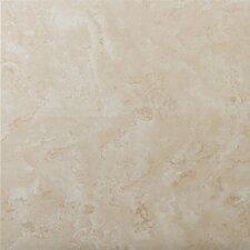 """Cordova 7"""" x 7"""" Ceramic Field Tile in Avorio"""