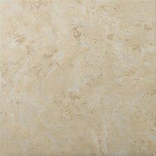 """Cordova 17"""" x 17"""" Ceramic Field Tile in Crema"""