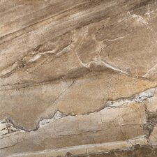 "Eurasia 18"" x 18"" Porcelain Field Tile in Noce"