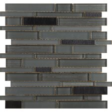 Flash Sized Glass Mosaic Tile in Lambent
