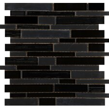 Flash Random Sized Glass Mosaic Tile in Luminous