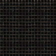 "Absolute 0.5"" x 0.5"" Granite Mosaic Tile in Black"