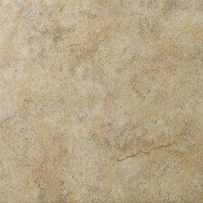 "Toledo 17"" x 17"" Ceramic Field Tile in Walnut"